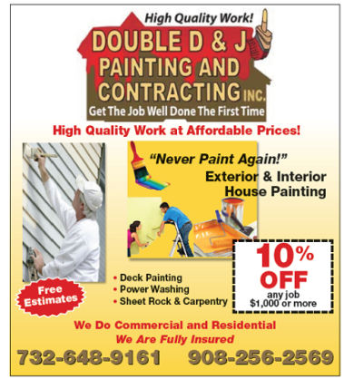 Double3 D & J Painting & Contracting, Inc.