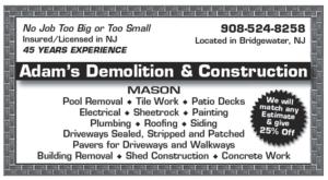 Adam's Demolition & Construction