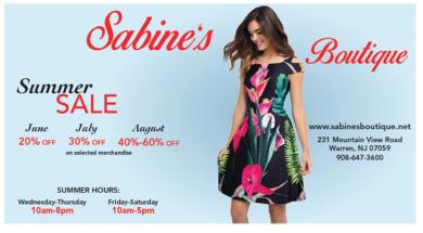Sabine's Boutique