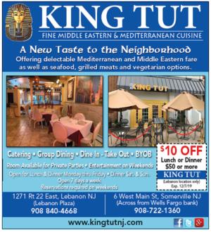 King Tut Fine Middle Eastern & Mediterranean Cuisine