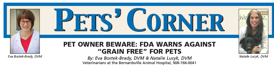 "Pet Owner BEWARE: FDA Warns Against ""Grain Free"" for Pets"