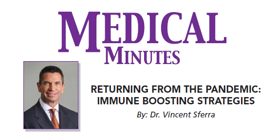 MEDICAL MINUTES – Returning from the Pandemic: Immune Boosting Strategies